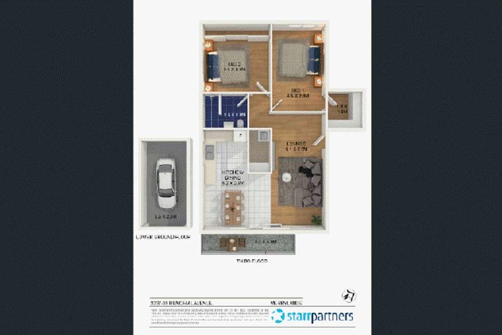 Floorplan of Homely unit listing, 20/37 Memorial Avenue, Merrylands NSW 2160