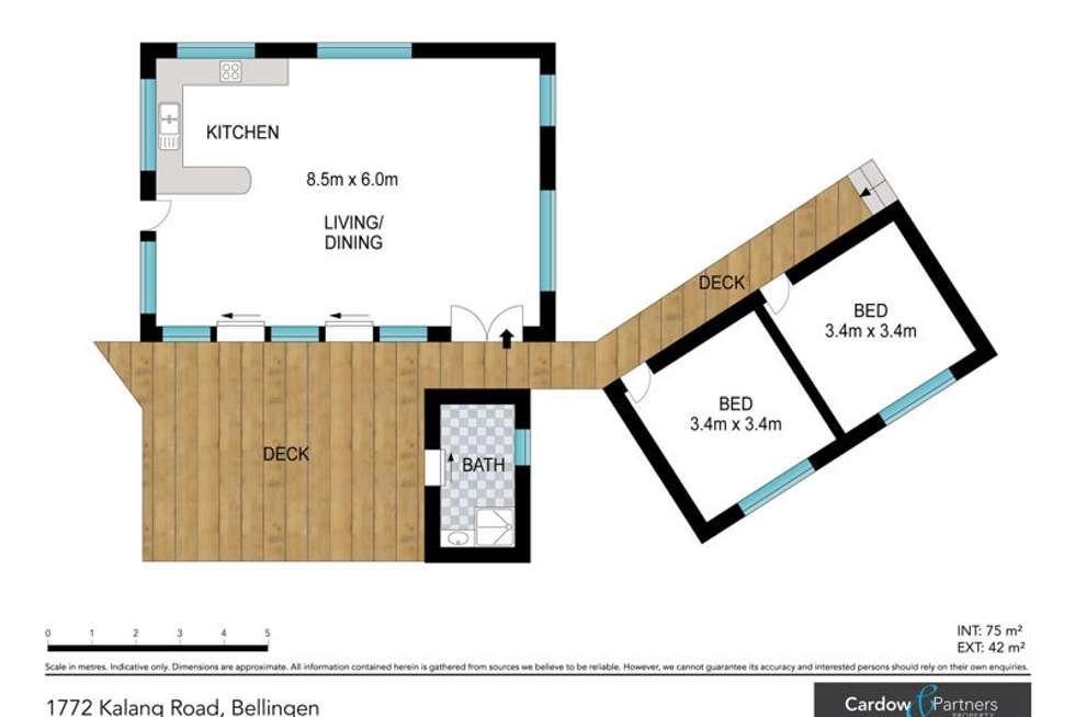 Floorplan of Homely acreageSemiRural listing, 1772 Kalang Road, Bellingen NSW 2454