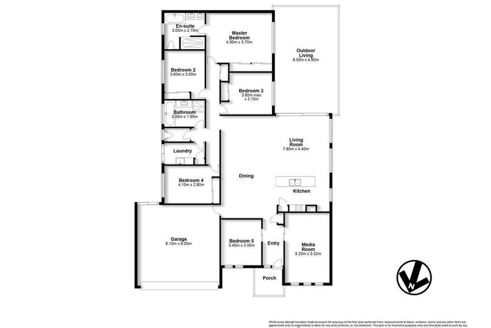 Floorplan of Homely house listing, 62 Norman Drive, Cornubia QLD 4130