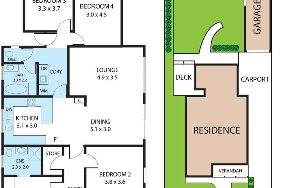 Floorplan of Homely house listing, 3 Sullivan Avenue, Wagga Wagga NSW 2650