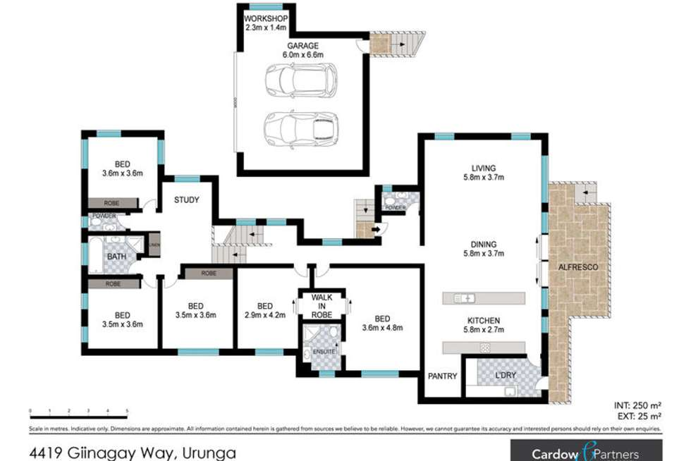 Floorplan of Homely house listing, 4419 Giinagay Way, Urunga NSW 2455