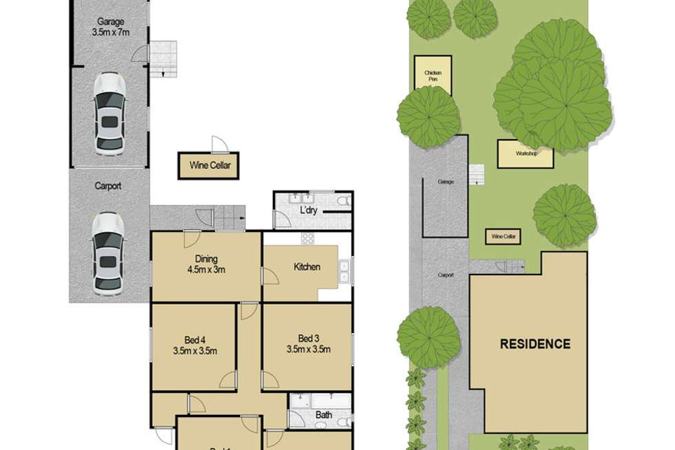 Floorplan of Homely house listing, 54 Mill Street, Riverstone NSW 2765
