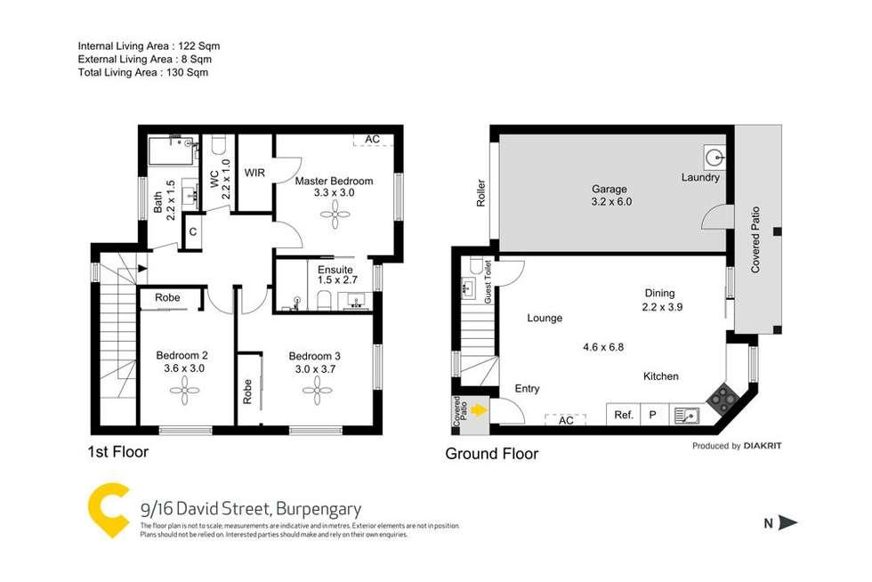 Floorplan of Homely townhouse listing, 9/16 David Street, Burpengary QLD 4505