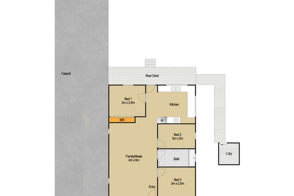 Floorplan of Homely house listing, 53 Ashford Road, Vineyard NSW 2765