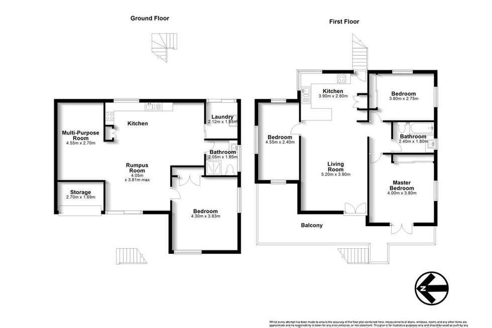 Floorplan of Homely house listing, 92 Constellation Way, Wynnum QLD 4178
