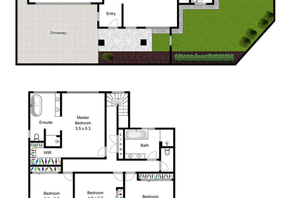 Floorplan of Homely house listing, 157 Winstanley Street, Carina Heights QLD 4152