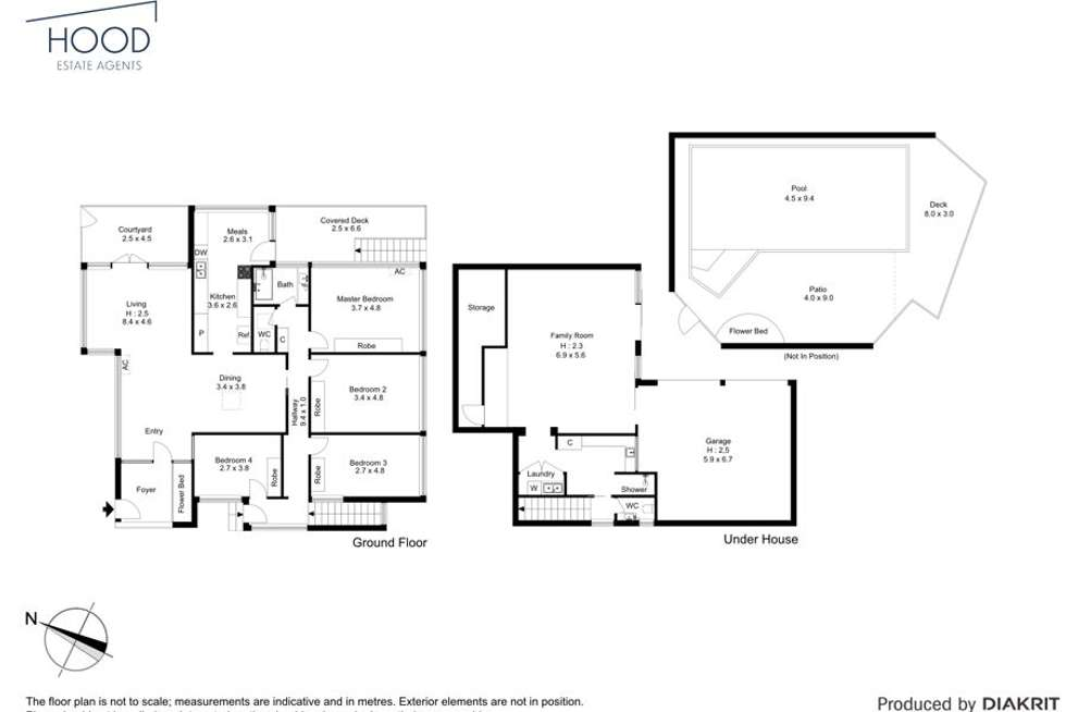Floorplan of Homely house listing, 122 Seventeen Mile Rocks Rd, Oxley QLD 4075