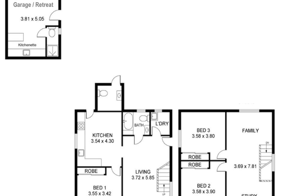 Floorplan of Homely house listing, 97 Cams Boulevard, Summerland Point NSW 2259