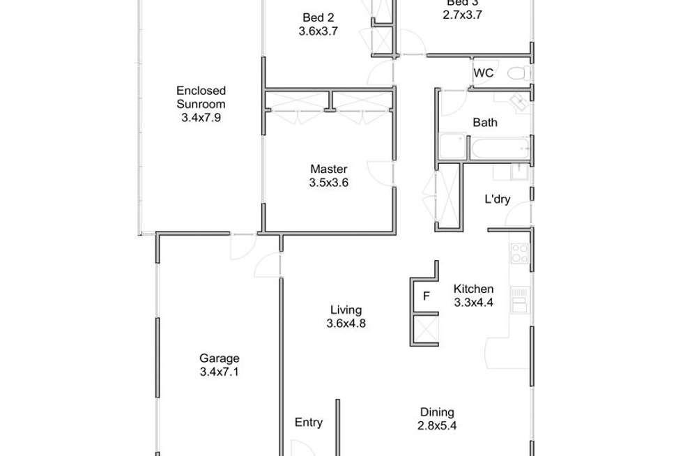 Floorplan of Homely house listing, 22 Lencol Street, Mount Gravatt QLD 4122