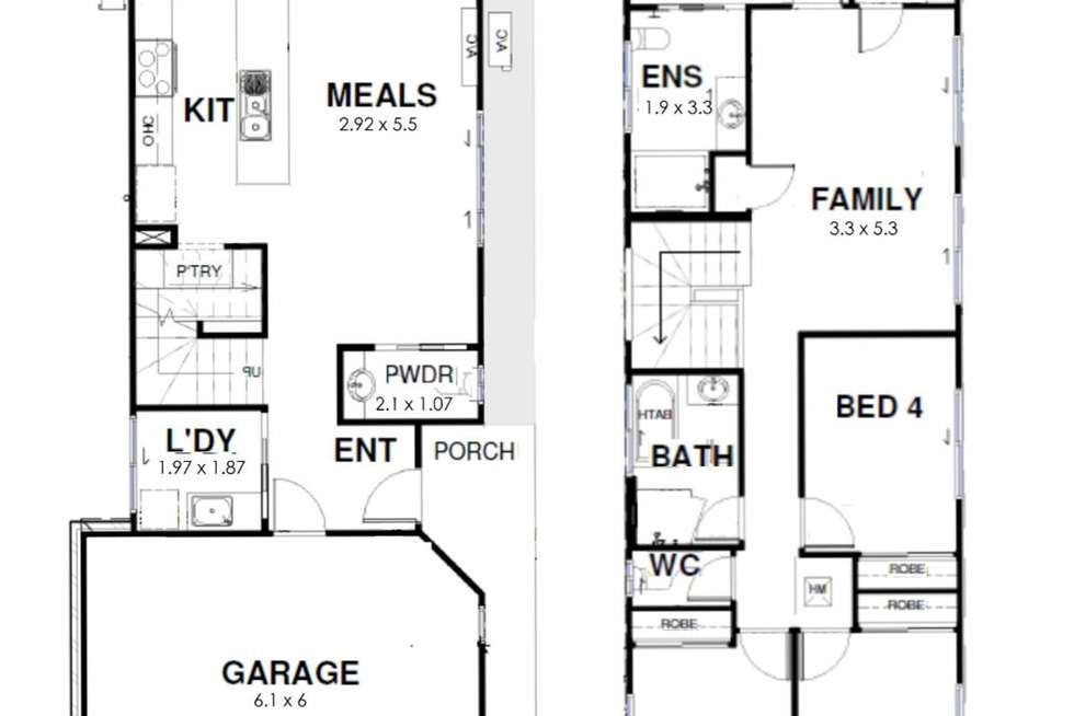 Floorplan of Homely house listing, 83 Winstanley Street, Carina Heights QLD 4152