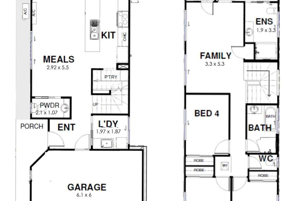 Floorplan of Homely house listing, 81 Winstanley Street, Carina Heights QLD 4152