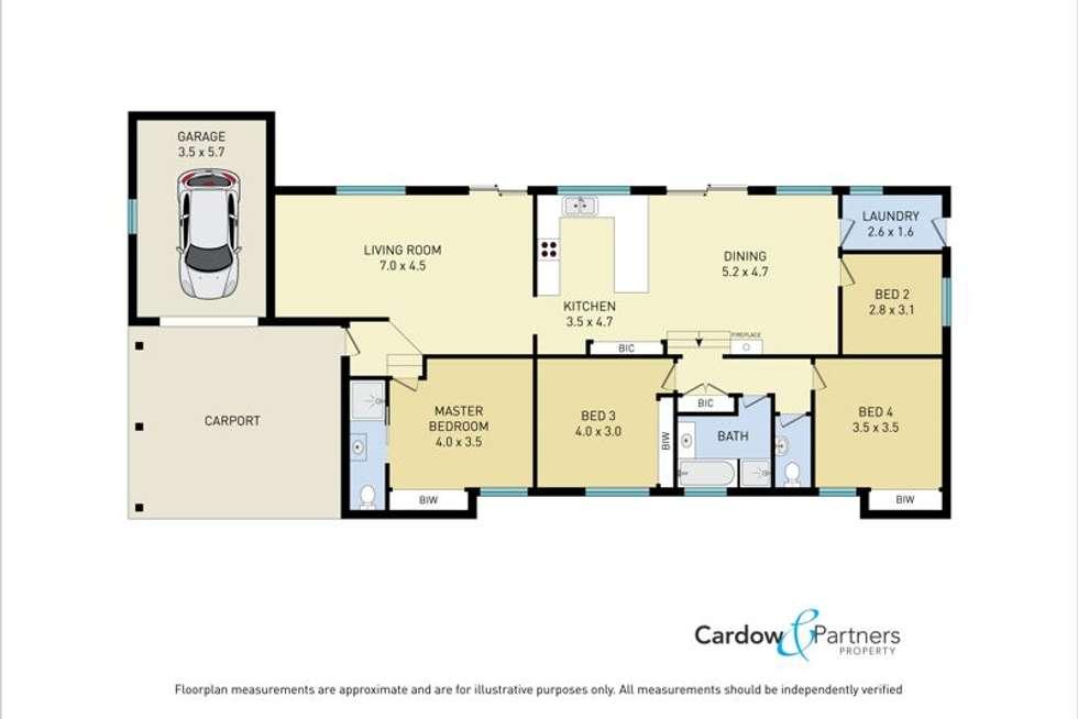 Floorplan of Homely house listing, 42 Crown Street, Bellingen NSW 2454