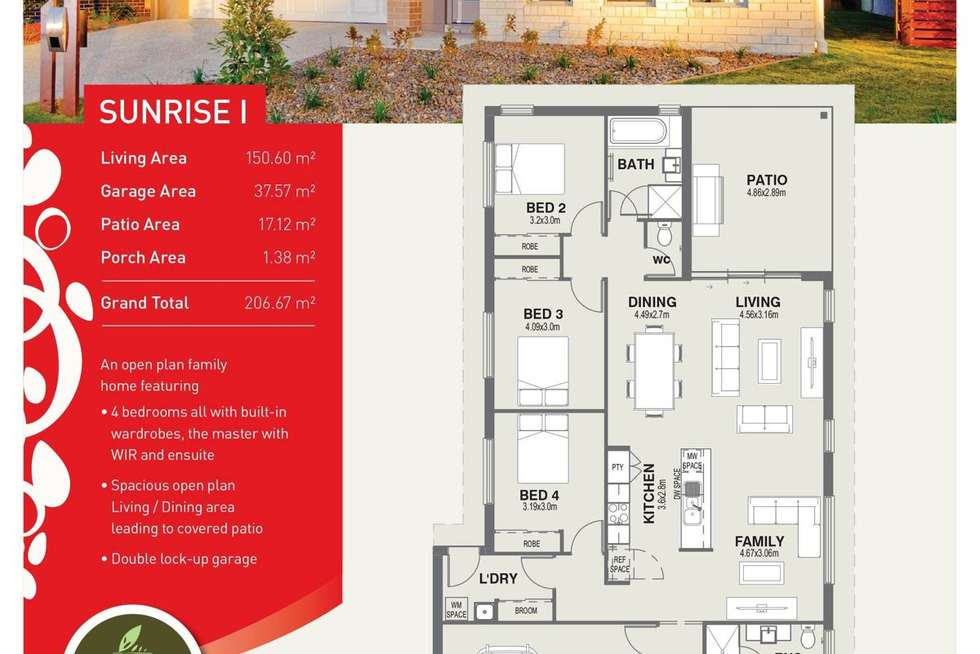 Floorplan of Homely house listing, 96 Brookside Cct, Ormeau QLD 4208