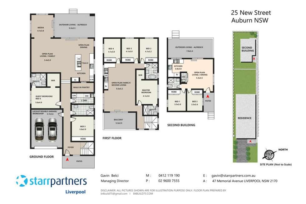 Floorplan of Homely house listing, 27 New Street, Auburn NSW 2144