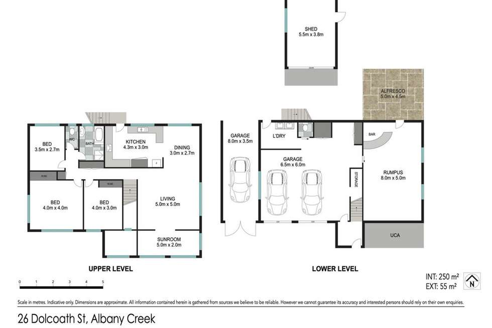 Floorplan of Homely house listing, 26 Dolcoath Street, Albany Creek QLD 4035