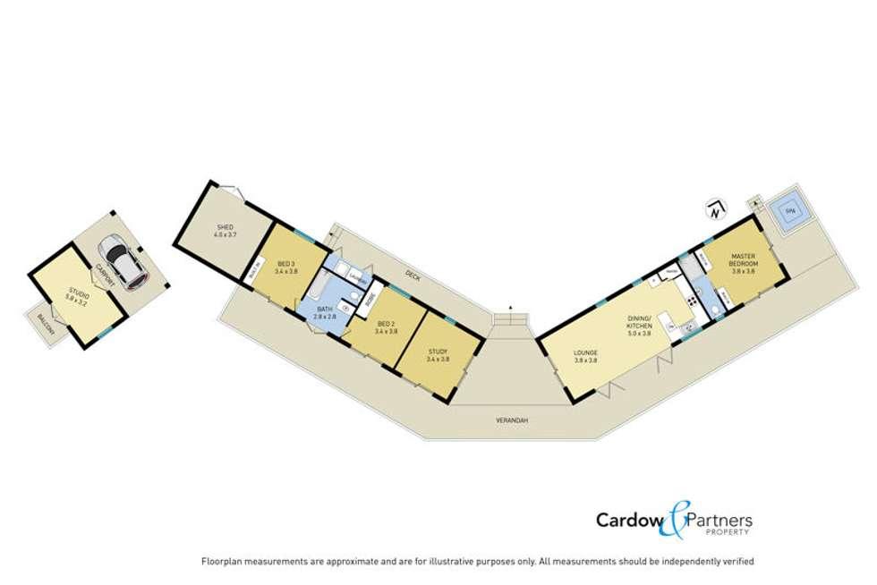 Floorplan of Homely acreageSemiRural listing, 188 Gleniffer Rd, Bellingen NSW 2454