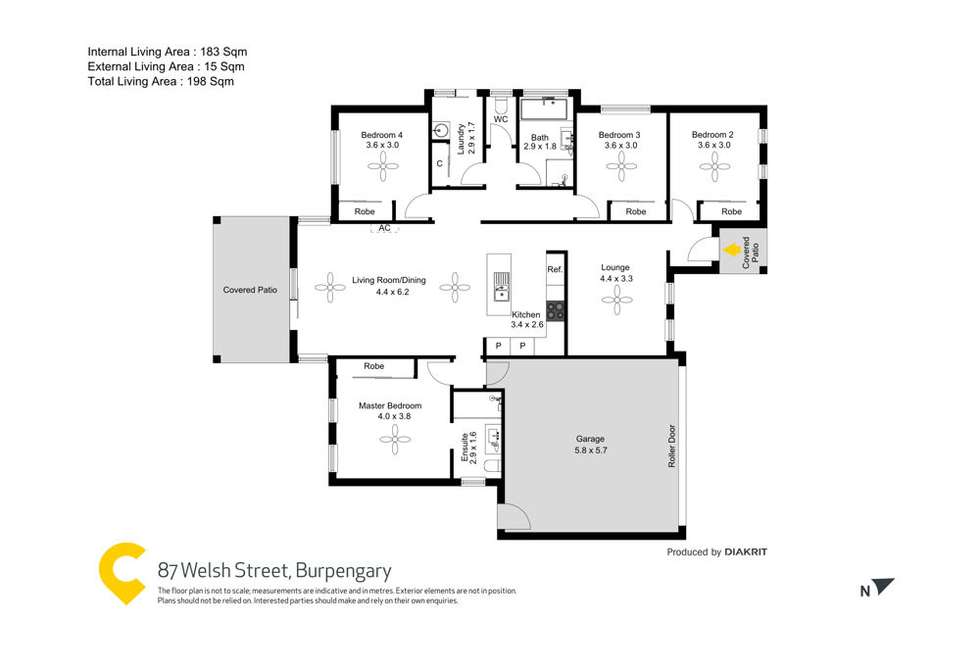 Floorplan of Homely residentialLand listing, 87 Welsh Street, Burpengary QLD 4505