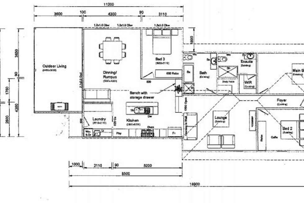 Floorplan of Homely house listing, 17 Eton Street, East Toowoomba QLD 4350