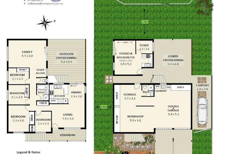 Floorplan of Homely house listing, 87 Tantani Street, Manly West QLD 4179