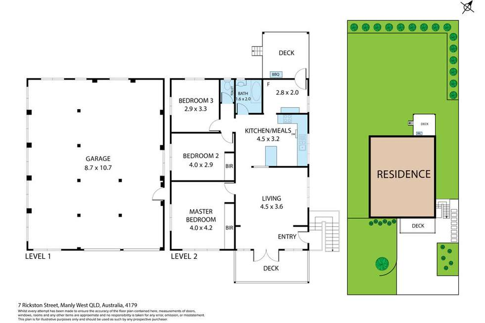 Floorplan of Homely house listing, 7 Rickston Street, Manly West QLD 4179
