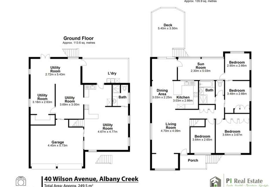 Floorplan of Homely house listing, 40 Wilson Ave, Albany Creek QLD 4035