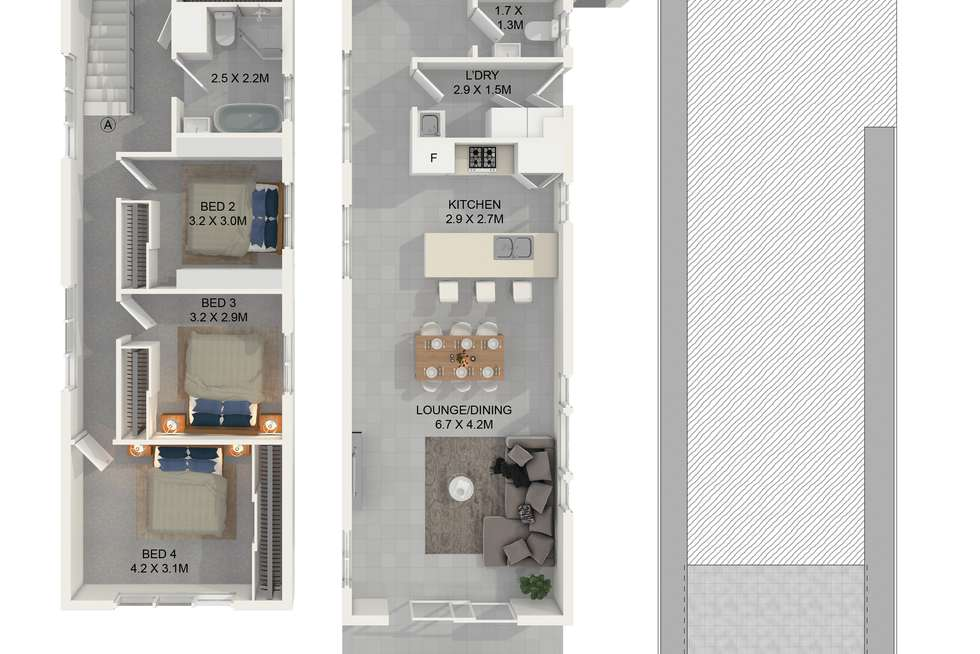 Floorplan of Homely house listing, 166 Chetwynd Road, Guildford NSW 2161