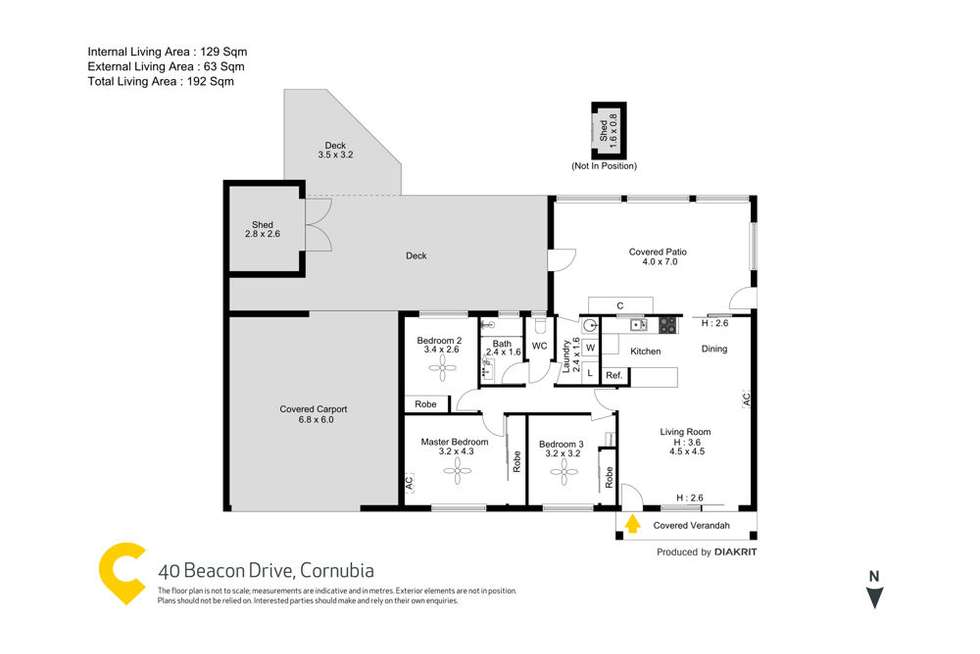 Floorplan of Homely house listing, 40 Beacon Drive, Cornubia QLD 4130
