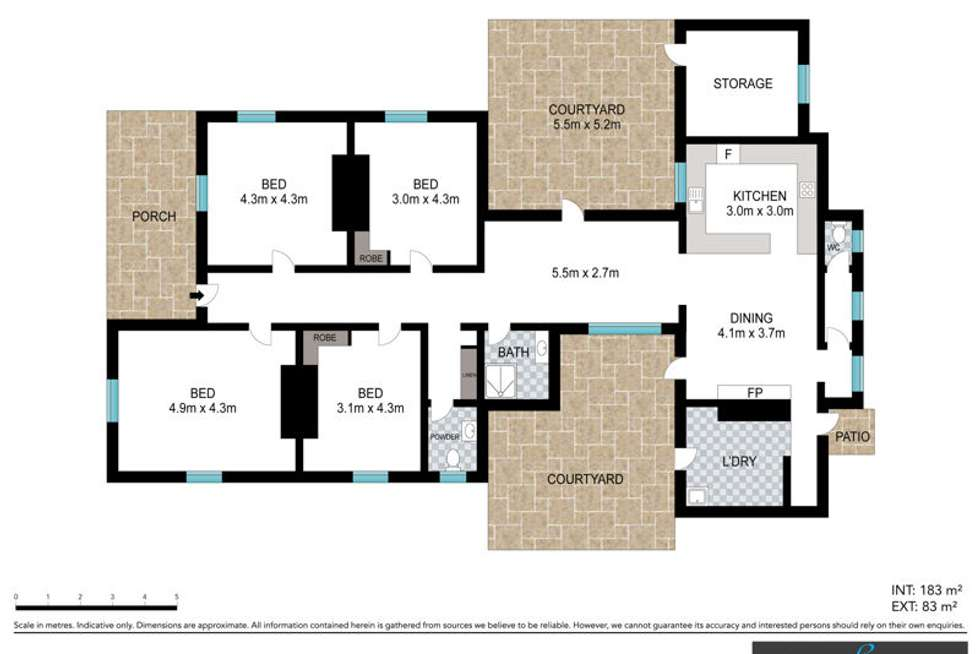 Floorplan of Homely house listing, 647 Waterfall Way, Bellingen NSW 2454