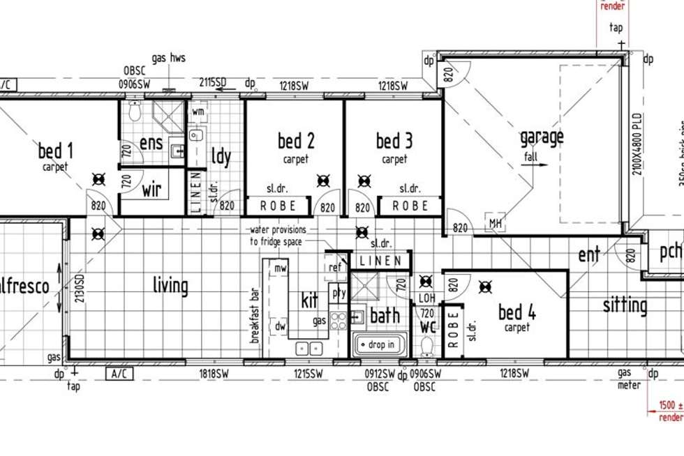 Floorplan of Homely house listing, 25 Oxford St, Pimpama QLD 4209