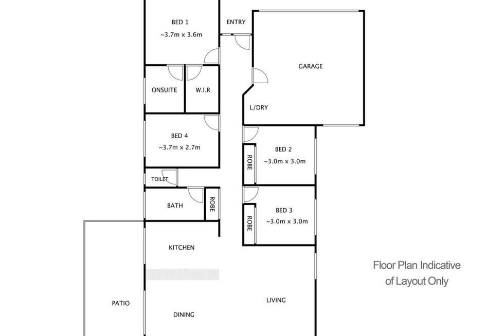 Floorplan of Homely house listing, 2/17 Lynelle Street, Marsden QLD 4132