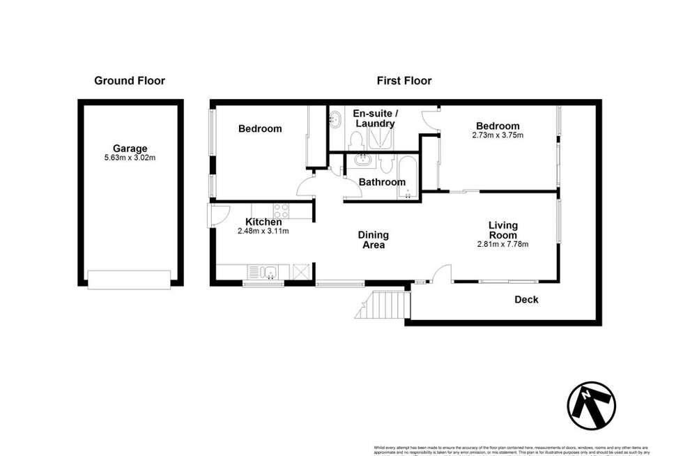 Floorplan of Homely unit listing, 1/104 Carmody Road, St Lucia QLD 4067