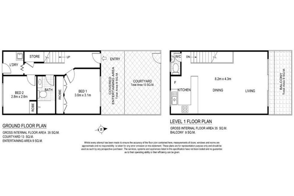 Floorplan of Homely unit listing, 4/10 Church Street, Terrigal NSW 2260