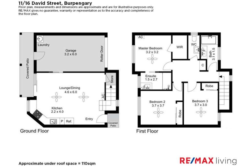 Floorplan of Homely townhouse listing, 11/16 David Street, Burpengary QLD 4505