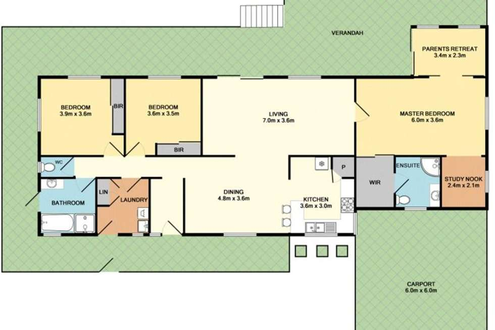 Floorplan of Homely house listing, 146 Macadamia Drive, Maleny QLD 4552