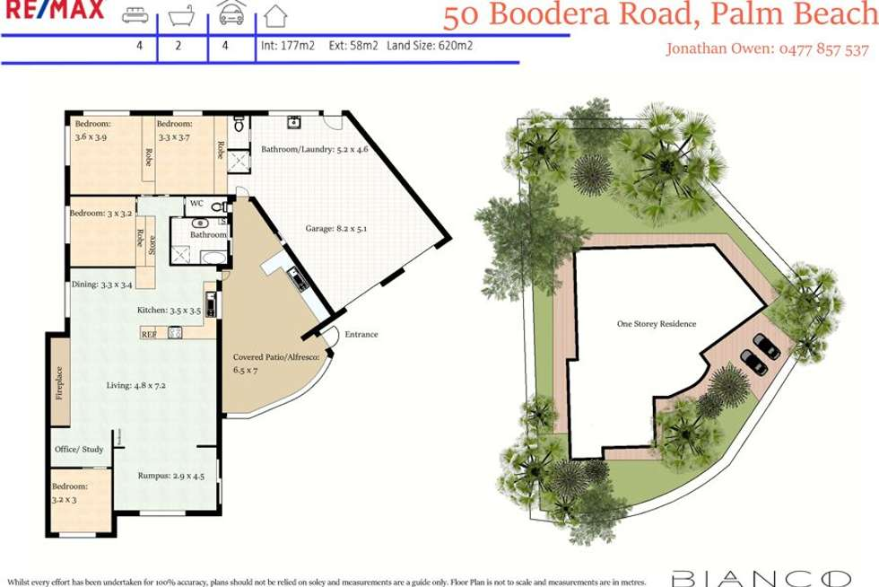 Floorplan of Homely house listing, 50 Boodera Road, Palm Beach QLD 4221