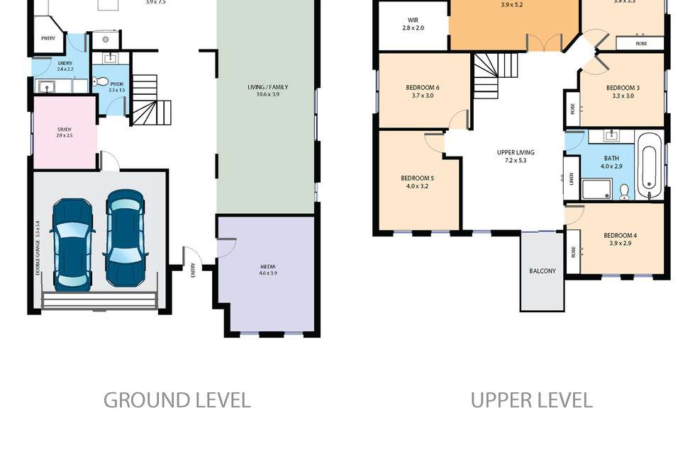 Floorplan of Homely house listing, 20 Ashtead Parade, Stanhope Gardens NSW 2768