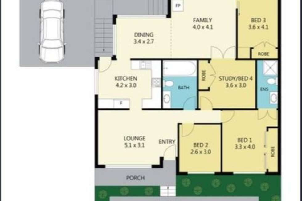 Floorplan of Homely house listing, 135 Jamison Road, Penrith NSW 2750
