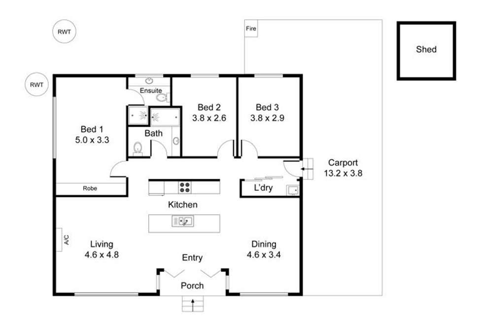 Floorplan of Homely house listing, 80 Apold Road, Murbko SA 5320