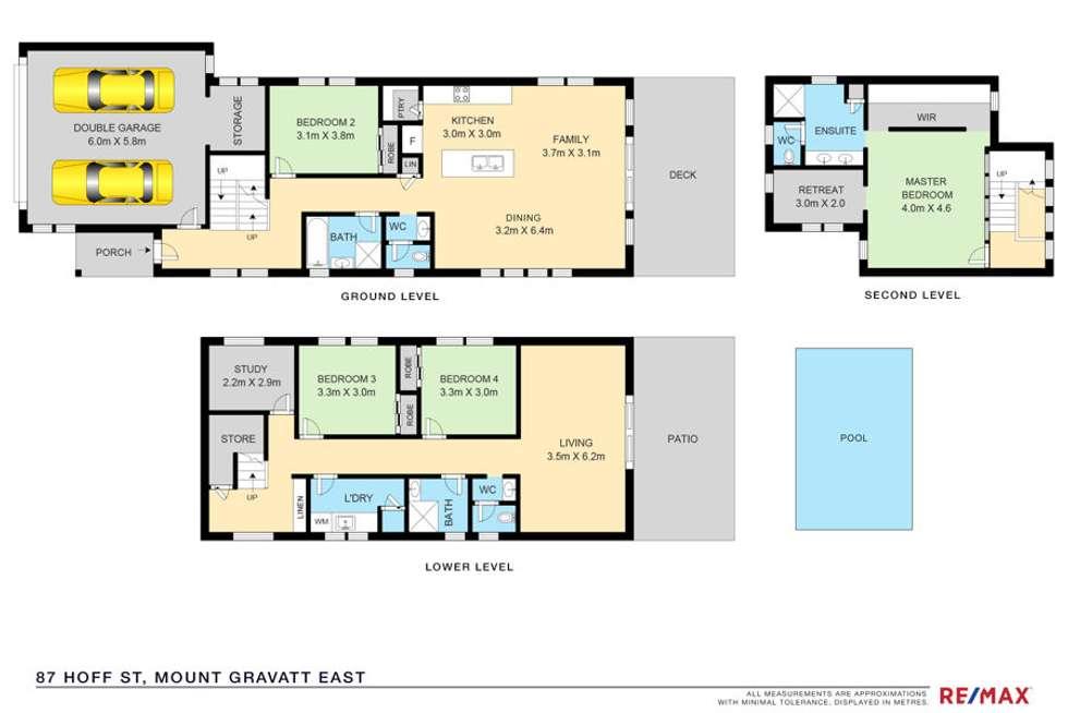 Floorplan of Homely house listing, 87 Hoff St, Mount Gravatt East QLD 4122