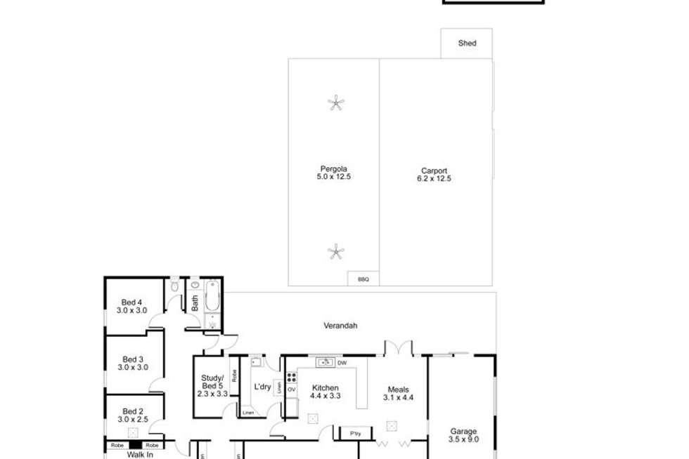 Floorplan of Homely house listing, 16 Birt Avenue, Salisbury Heights SA 5109
