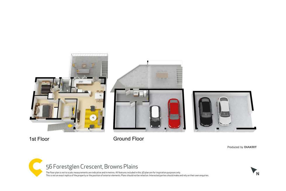 Floorplan of Homely house listing, 56 Forestglen Crescent, Browns Plains QLD 4118
