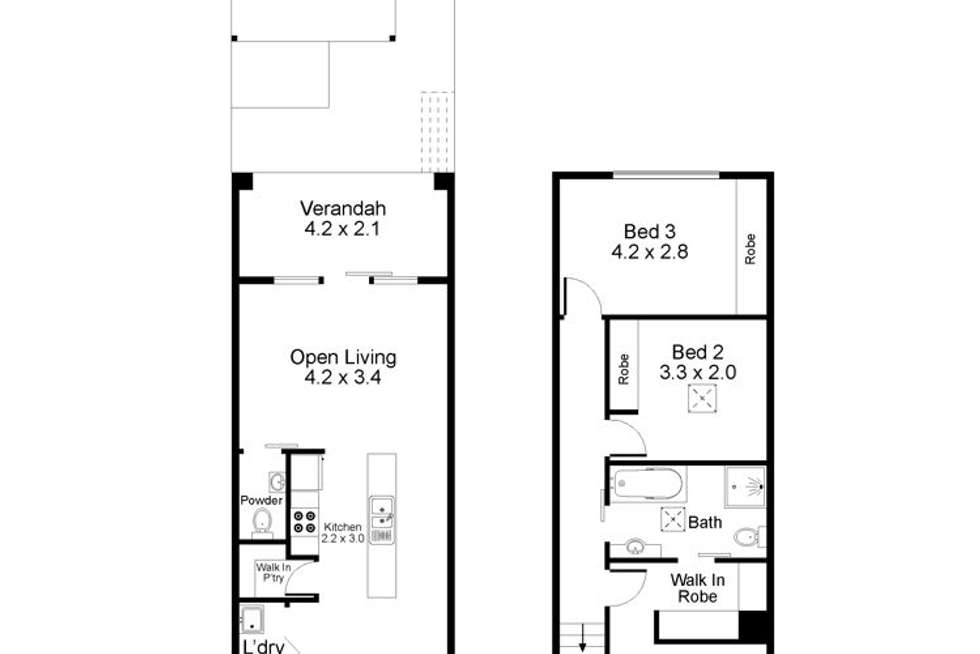 Floorplan of Homely house listing, 27 Village Terrace, Blakeview SA 5114