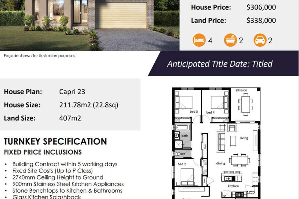 Floorplan of Homely residentialLand listing, 1 Midpride Street, Tarneit VIC 3029