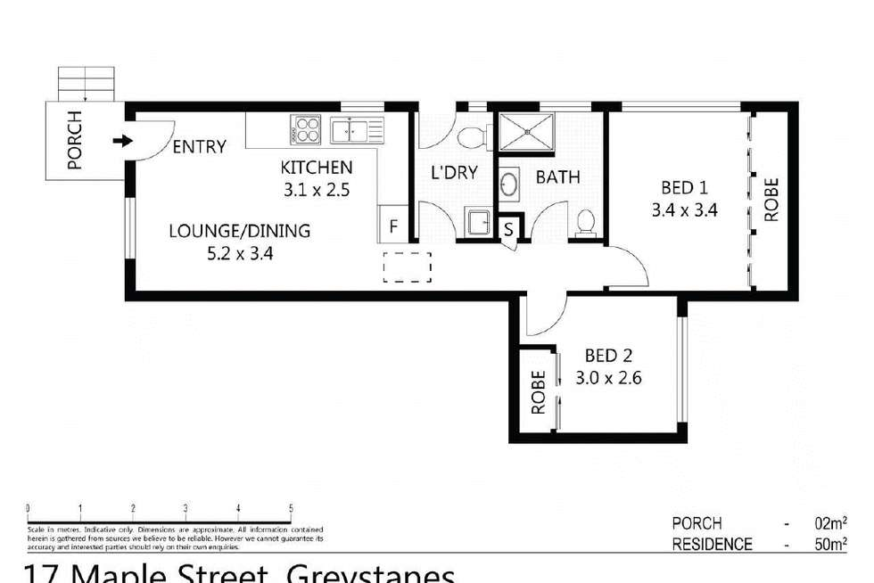 Floorplan of Homely house listing, 17a Maple Street, Greystanes NSW 2145
