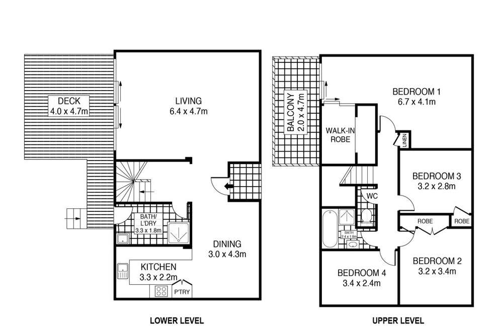 Floorplan of Homely house listing, 45 Ivy Avenue, Chain Valley Bay NSW 2259