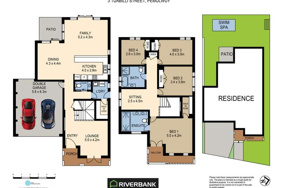 Floorplan of Homely house listing, 3 Tuabilli St, Pemulwuy NSW 2145