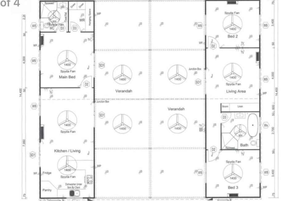 Floorplan of Homely acreageSemiRural listing, 19 Eucalyptus Road, Herbert NT 836