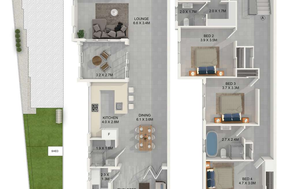 Floorplan of Homely house listing, 76 Canal Road, Greystanes NSW 2145