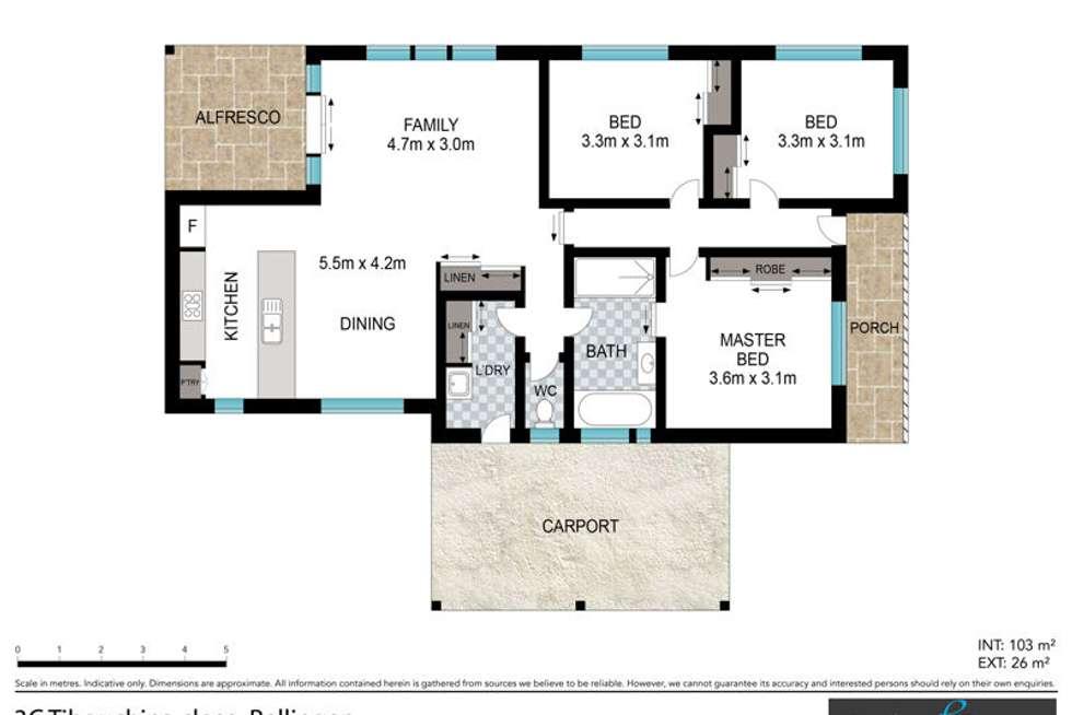 Floorplan of Homely house listing, 3C Tibouchina Close, Bellingen NSW 2454