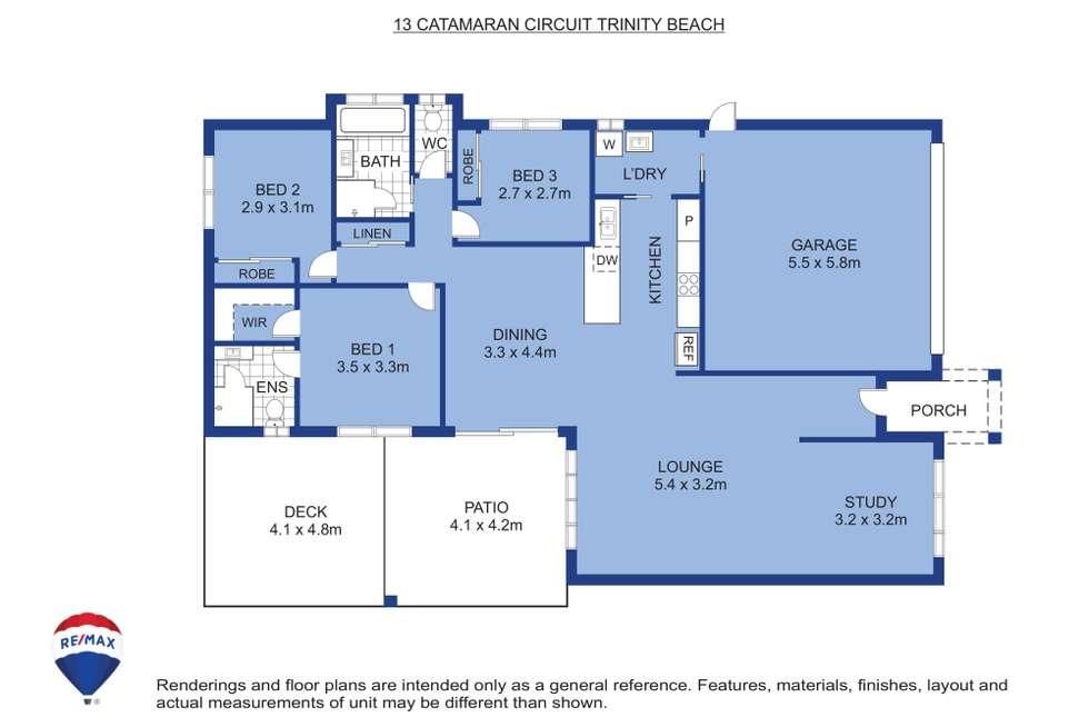 Floorplan of Homely house listing, 13 Catamaran Street, Trinity Beach QLD 4879
